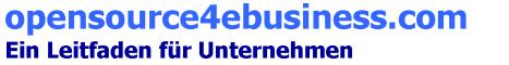 opensource4ebusiness.com - Ein Leitfaden für Unternehmen